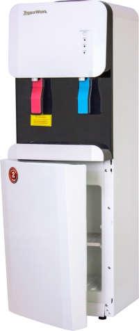 Кулер для воды Водораздатчик Aqua Work 105-LWR бело-черный