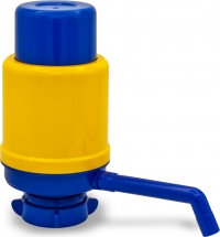 Помпа для воды Дельфин Эко желто-синяя (в пакете)