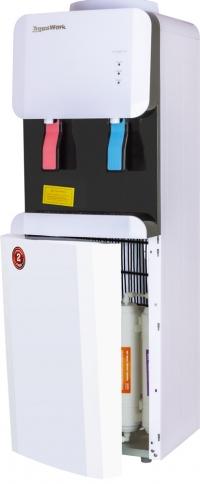 Кулер для воды Пурифайер Aqua Work 105-LR/SF+F бело-черный