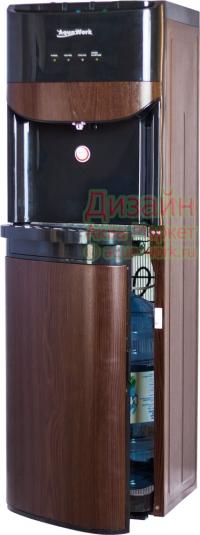 Кулер для воды Дерево венге с загрузкой снизу