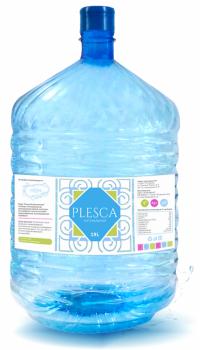 """Артезианская вода """"Plesca Натуральная""""  в одноразовой таре"""