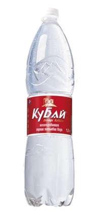 «Кубай» горная питьевая вода 1,5 л. (упаковка из 6 шт.)