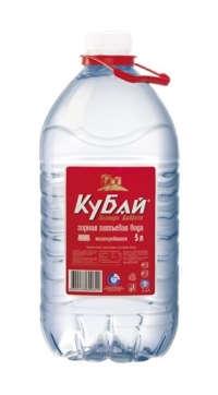 «Кубай» горная питьевая вода 5 л. (упаковка из 2 шт.)