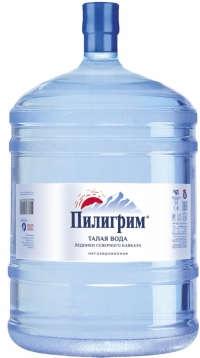 Талая ледниковая вода «Пилигрим» 18,9 л.