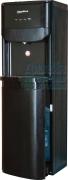 Кулер для воды Кожа черная с загрузкой снизу