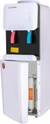 Кулер для воды Пурифайер Aqua Work 105-LDR/SF+F бело-черный