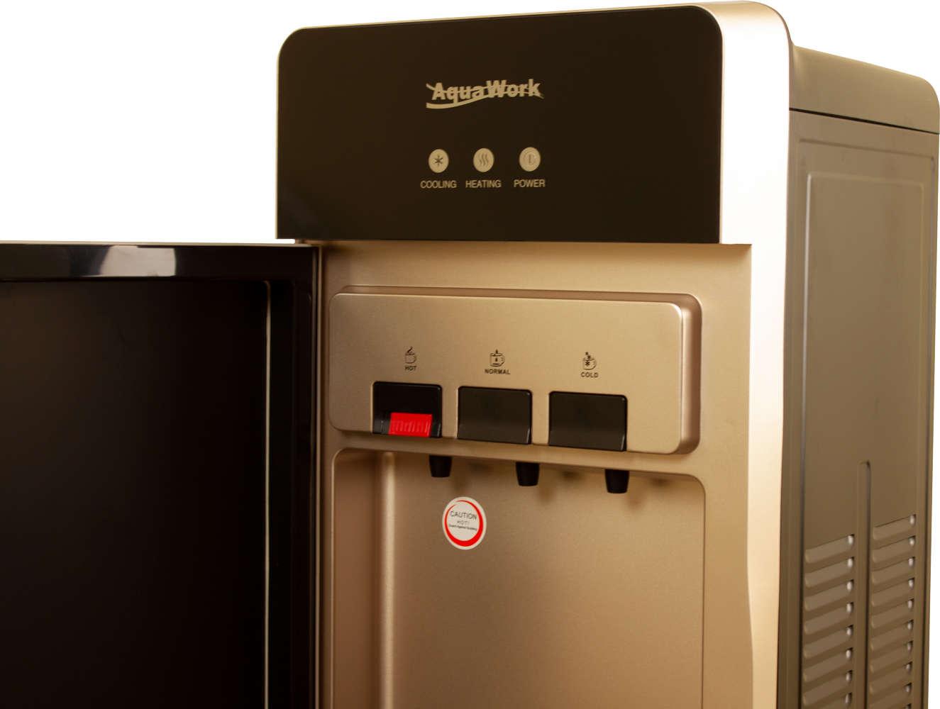 Кулер для воды Aqua Work R85-W золото-черный