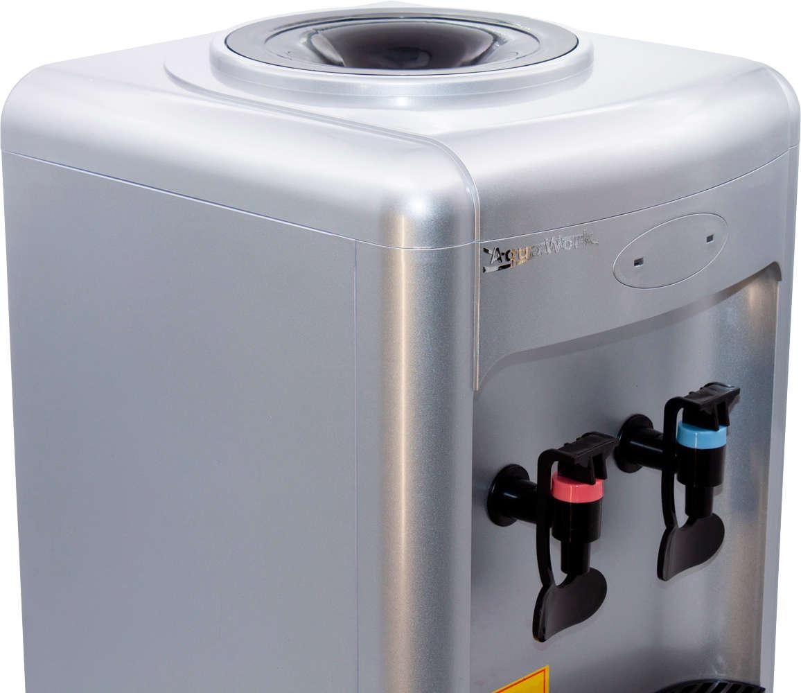 Кулер для воды Кулер для воды Aqua Work 36-TDN серебро
